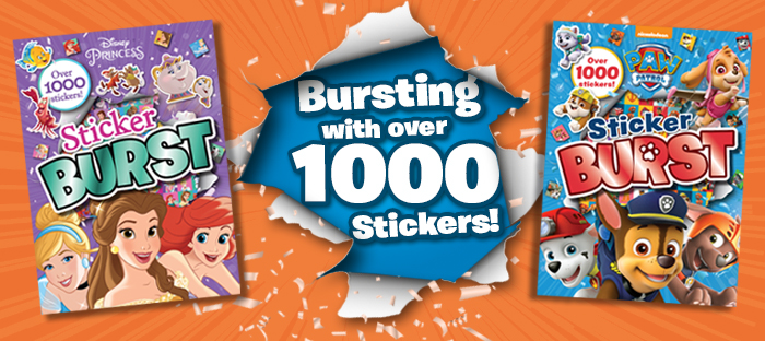 sticker bursts
